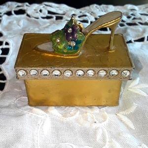 Stiletto shoe Trinket box